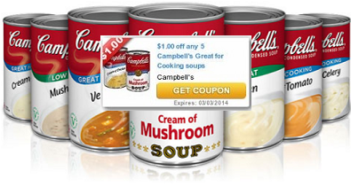 New Campbell's Soup Coupons + Store Deals!