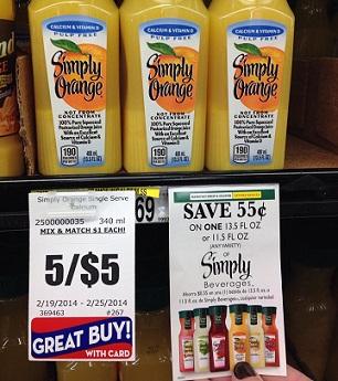 Homeland tearpad alert free simply orange single serve juice for Simply singles