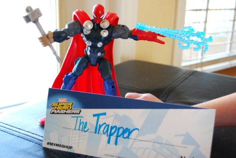 super hero mashers the trapper