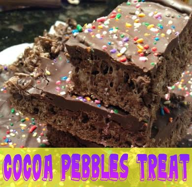 Cocoa Pebbles Treats