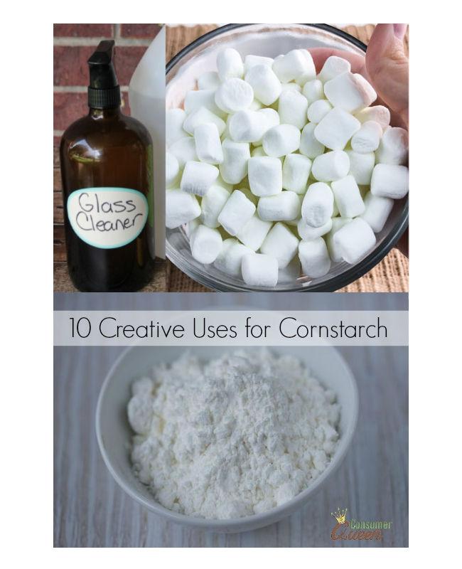 10 Creative Uses for Cornstarch