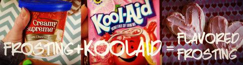 Kool-Aid Flavored Frosting