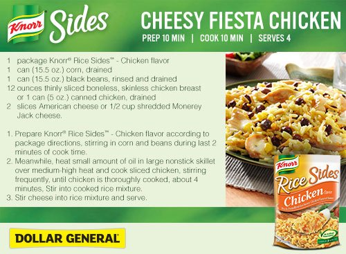 Cheesy Fiesta Chicken