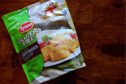 Check out these New Gluten Free Chicken Nuggets from Tyson Foods!