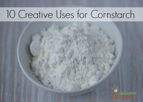 Creative Uses for Cornstarch