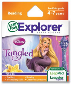LeapFrog Explorer Learning Game: Tangled for 9.99