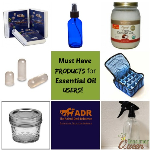 Must Have Products For Essential Oil Users