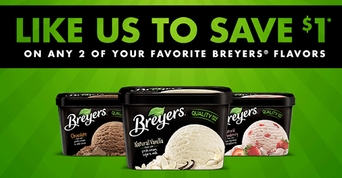 graphic about Breyers Ice Cream Coupons Printable titled Consider up in direction of $2.50 off with Beyers Ice Product Discount codes