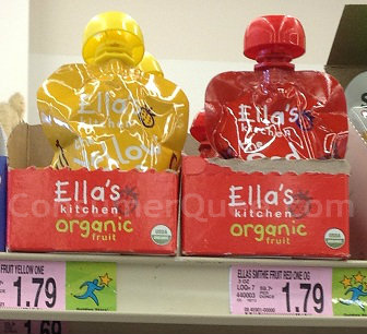 Ella's Kitchen Baby Food Pouches FREE at Homeland & CM!