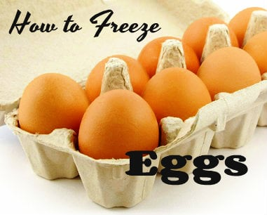 Eggs as Low as 74¢ at Walgreens, Target , Homeland – Buy Extra & Freeze!