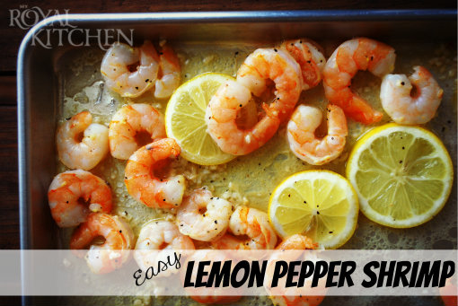 Easy Lemon Pepper Shrimp