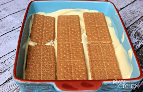 Chocolate Eclair Cake Step 2