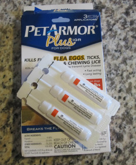 pet armor topical packs