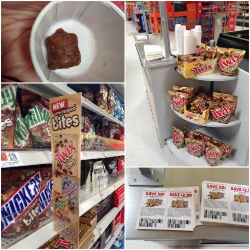 twix #eatmorebites #shop in store demo