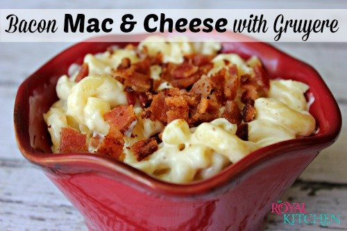 Bacon Mac and Cheese with Gruyere