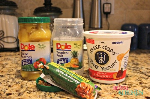 Dole Fruit Pairings in a Jar
