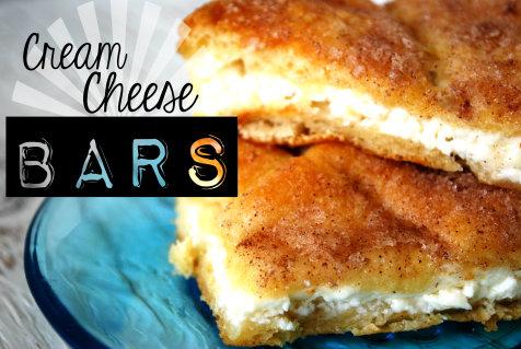 Cream Cheese Bars