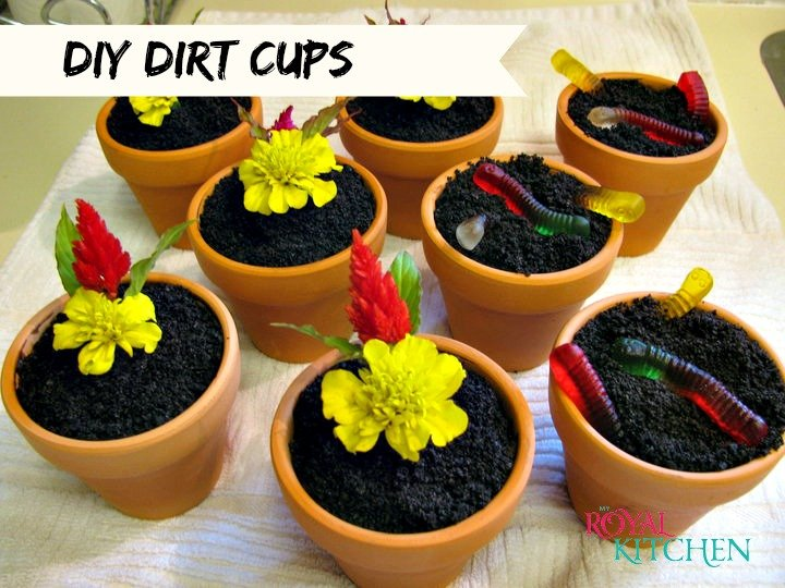 DIY Dirt Cups