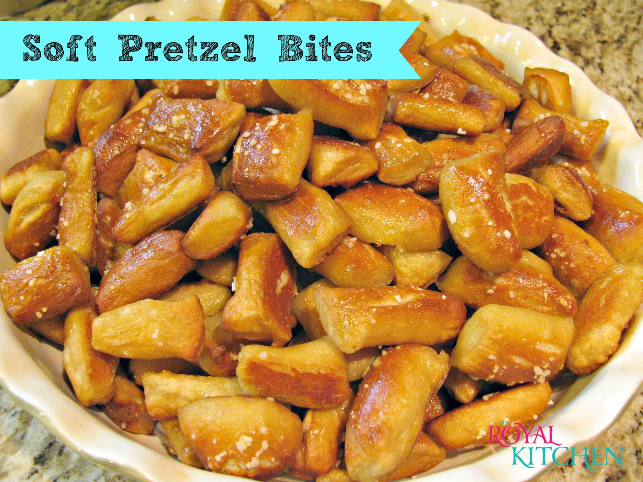 Warm Soft Pretzel Bites Recipe
