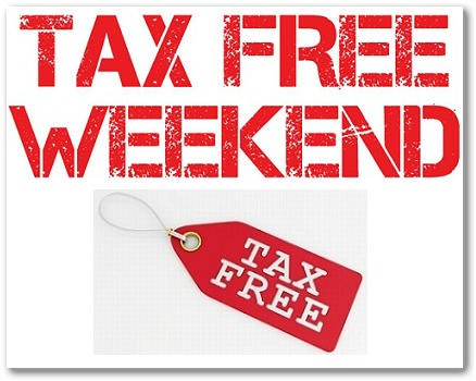 Back to School Tax Free Weekend Dates by State For 2017