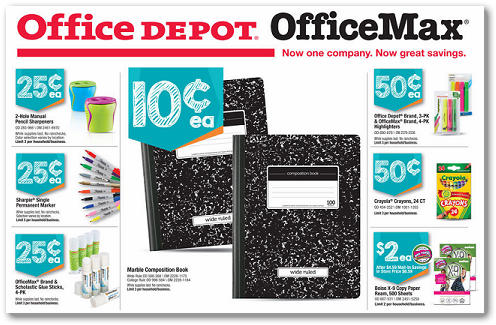 Office depot coupon technology