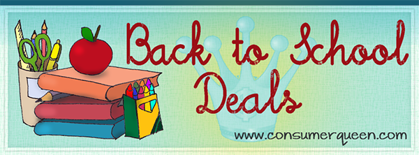 Back to School Round Up of Deals!