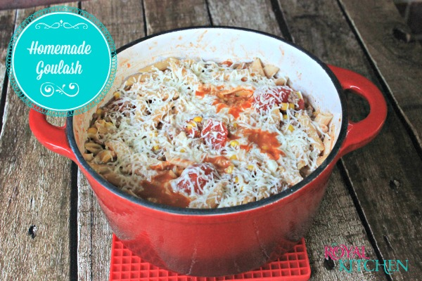 Homemade Goulash