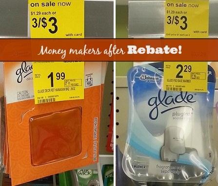New Glade Coupons = Profit After Rebates at Walgreens!
