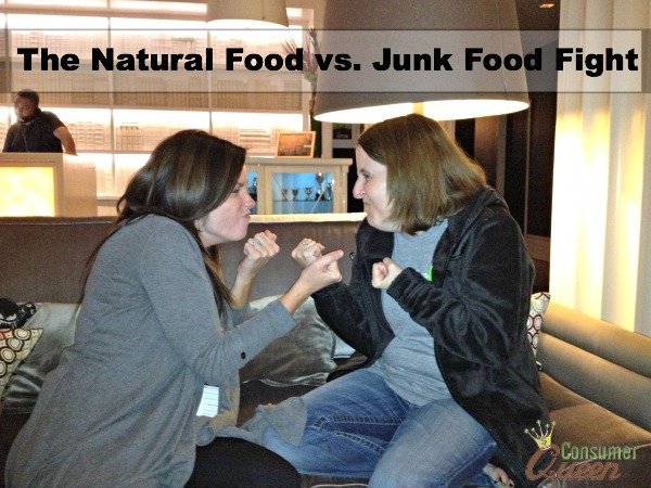 The Natural Food vs. Junk Food Fight