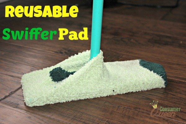 How To Make Reusable Swiffer Pads With Socks