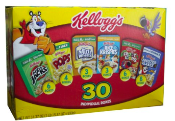 individual cereal
