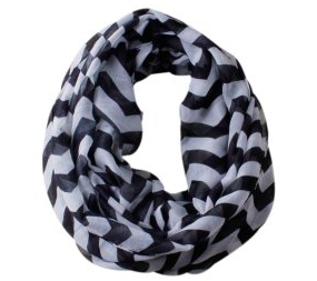Sheer Chevron Infinity Scarf, Now Only $5.99! (was $13.99)