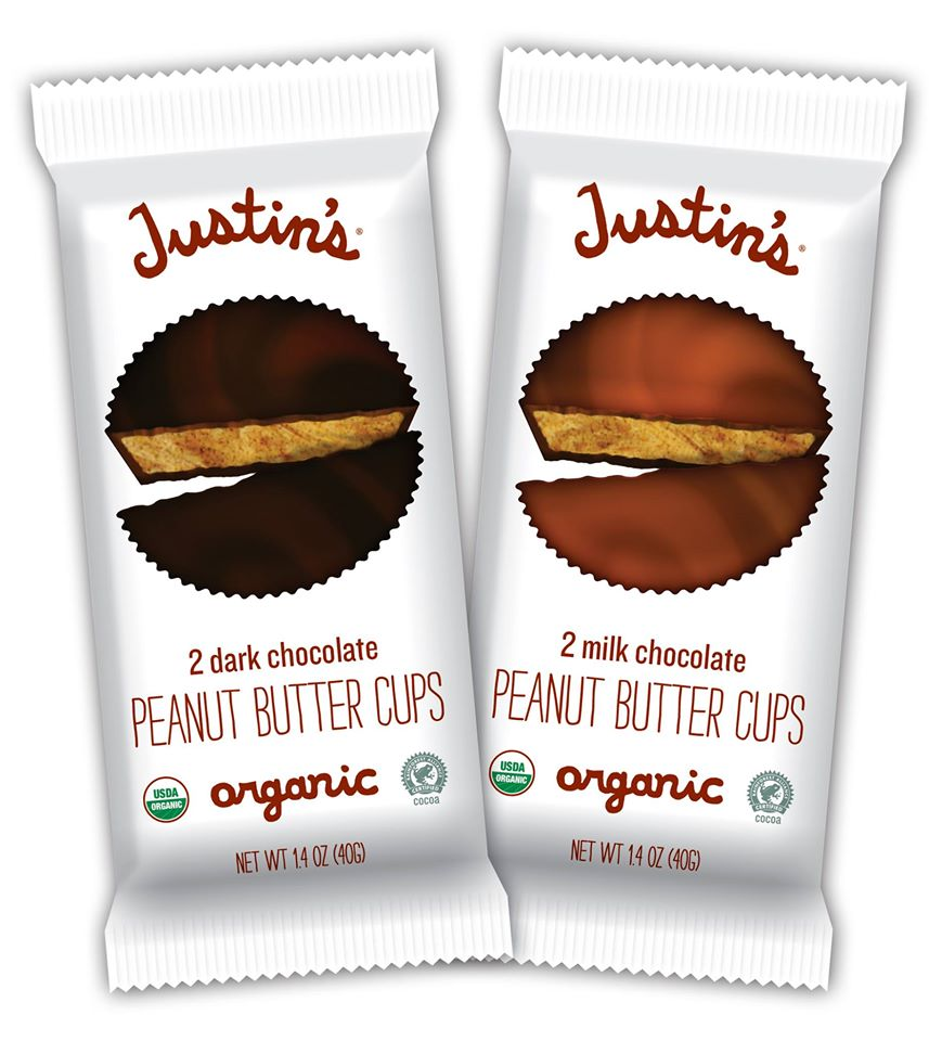Justin's Peanut Butter Cups  People often say that our nut butters are magical, but truth be told, I'm a lousy magician. That's how you know the great taste of combining our organic peanut butter with organic, fair-trade chocolate is no illusion. Voila! Peanut butter cups so astounding they boggle the mind. Now, if I could just get them to reappear once they're gone.  Get More  Info/Buy  Price $varies