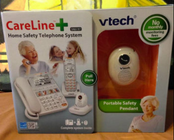 Vtech Careline +, Home Safety Telephone System! ~Review #Ad