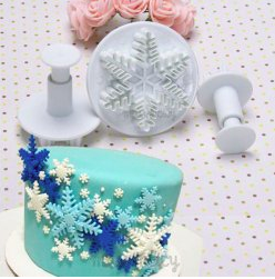 Snowflake Fondant Cutter, Frozen, Only $2.83 + Free Shipping!