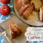 Cinnamon Apple and Walnut Coffee Cake
