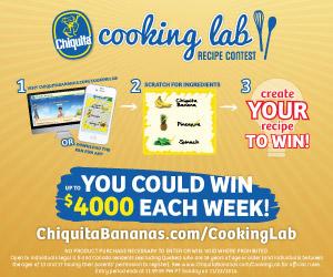Enter the Chiquita Recipe Contest