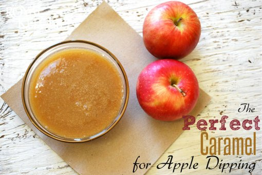 The Perfect Caramel for Apple Dipping!