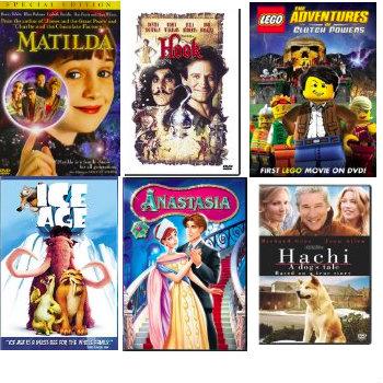 Over 40 DVDs Each Under $5!