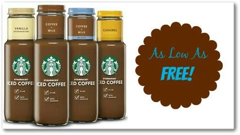 Starbucks Iced Coffee Coupon + Store Deals