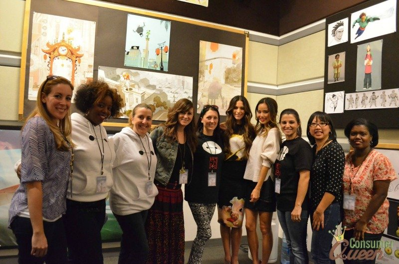 INTERVIEW WITH JAMIE CHUNG AND GENESIS RODRIGUEZ