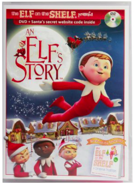 An Elf's Story DVD, Based on the Elf on a Shelf Book, Only $9.99!
