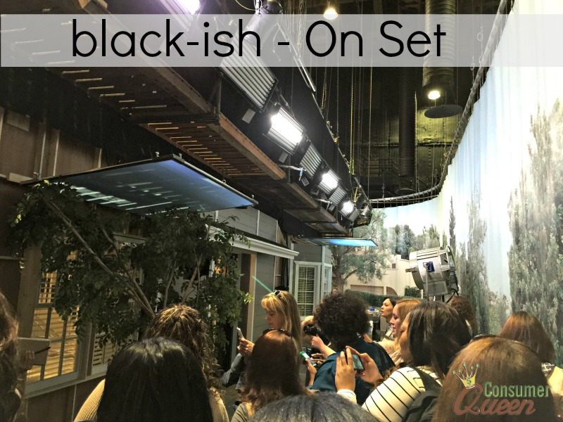 Exclusive Photos on the Set of black-ish