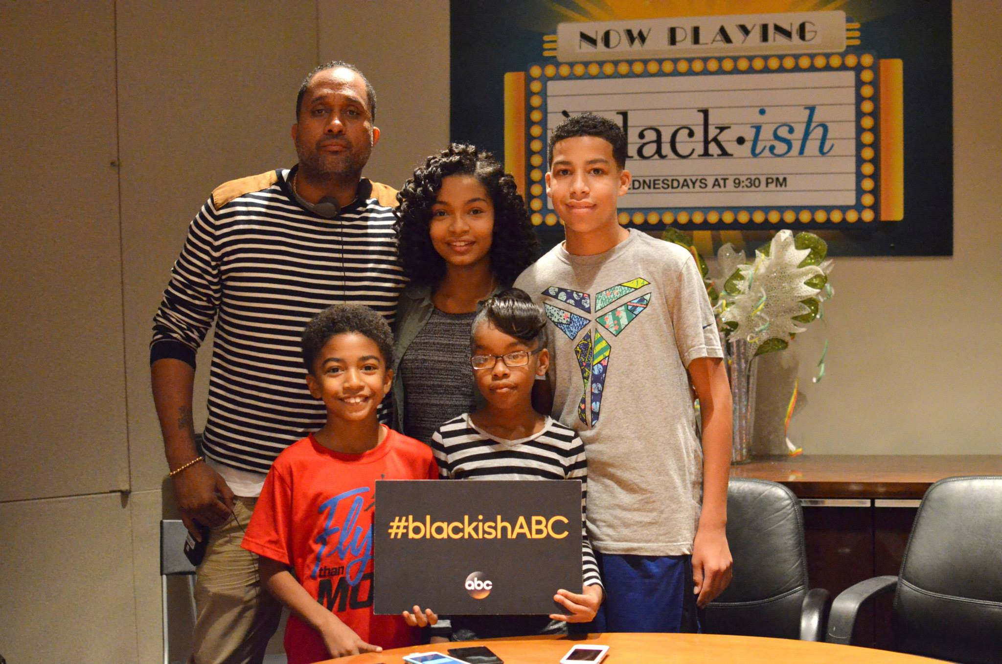 Interview With The Cast Of Abc S Black Ish