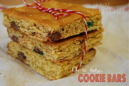 Oh So Easy Cookie Bars!