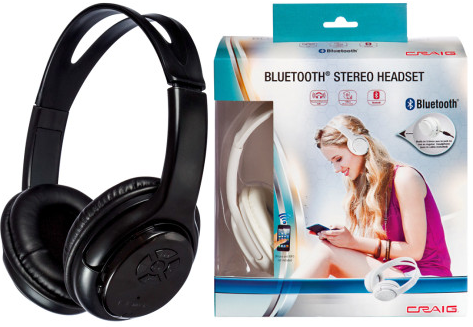 dollar general craig bluetooth stereo headset only 10. Black Bedroom Furniture Sets. Home Design Ideas
