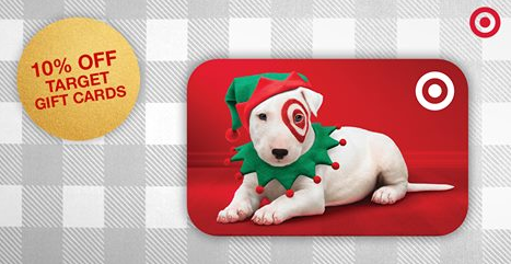 ALL Target Gift Cards 10% off Until Noon CST!