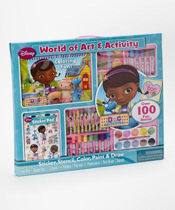 Doc Mcstuffins World of Art & Activity Set
