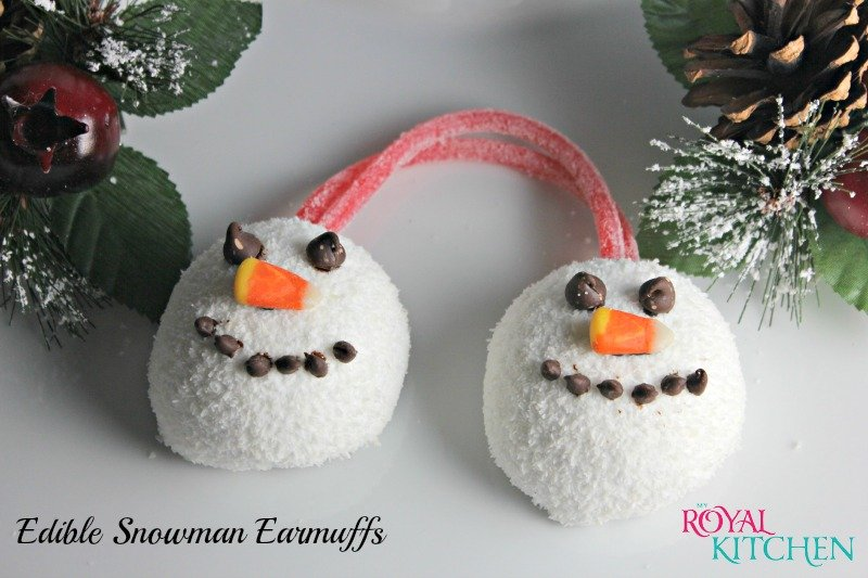 Edible Snowman Earmuffs 2