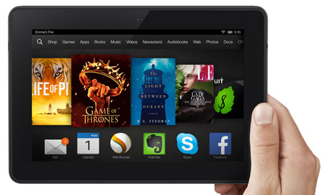 Kindle Fire HDX 4G LTE 7″ Tablet: 50% Off Today Only!